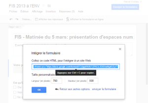 code_integrer_formulaire_google_drive