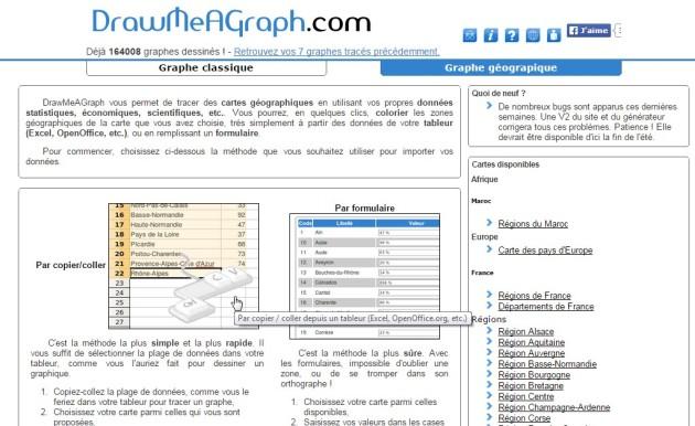 Une fois sur le site, sélectionné votre mode d'importation de données (Copier-coller pour moi dans ce cas)